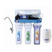 Фильтр для воды 5-ступенчатый с помпой AquaWater (система обратного осмоса )