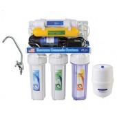 Фильтр для воды 6-ступенчатый с помпой AquaWater (система обратного осмоса YL-RO50G-3)