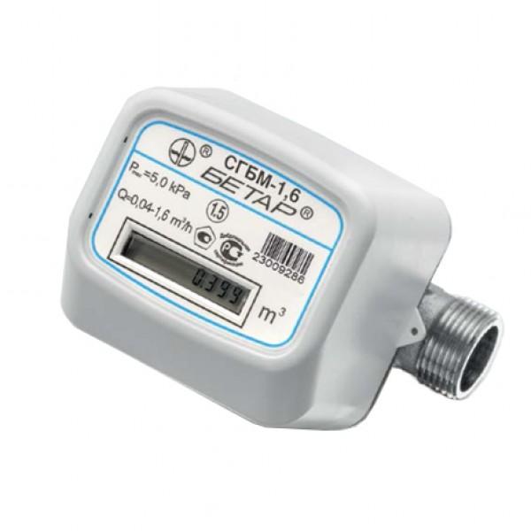 Счетчик газа бытовой  СГБМ-4